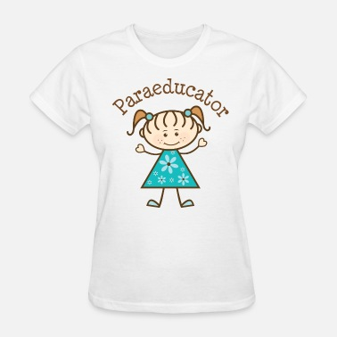 Paraeducator Paraeducator Stick Figure - Women's T-Shirt
