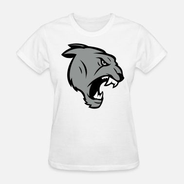Angry Giant Angry Panther Logo - Women's T-Shirt