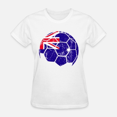 Australia Soccer Australia Soccer Football Ball - Women's T-Shirt