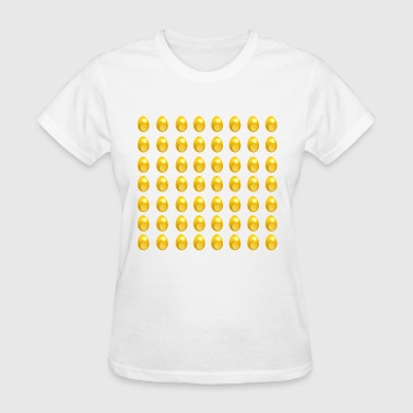 Golden Egg More Eggs Chicken Easter Gold Money Gift Idea - Women's T-Shirt