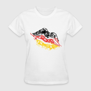 Kussmund Kiss mouth Germany - Women's T-Shirt