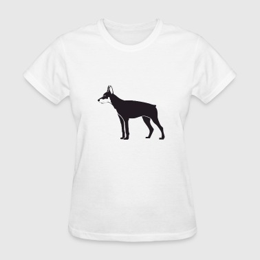 Watch Dogs A dog being watchful for anything - Women's T-Shirt