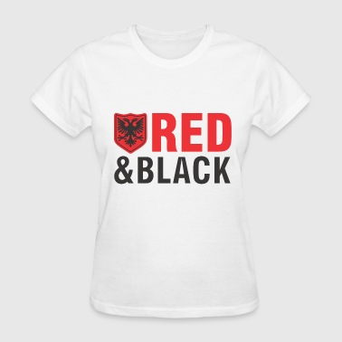 Albanian eagle red and black - Women's T-Shirt