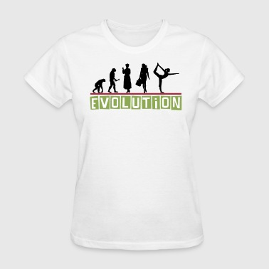 Yoga Evolution - Women's T-Shirt