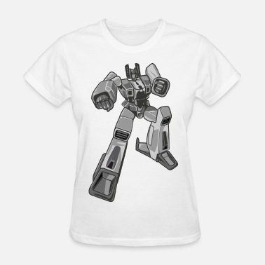 Transformer Kids Giant Robot - Anime - Cartoon - Cool - Manga - Women's T-Shirt