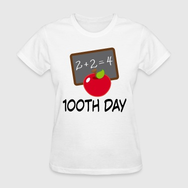 100th Day School Design - Women's T-Shirt