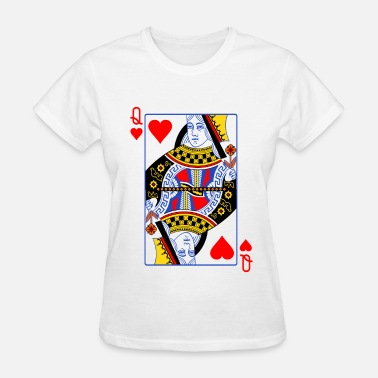 Queen Of Hearts Queen Of Hearts Couple - Women's T-Shirt