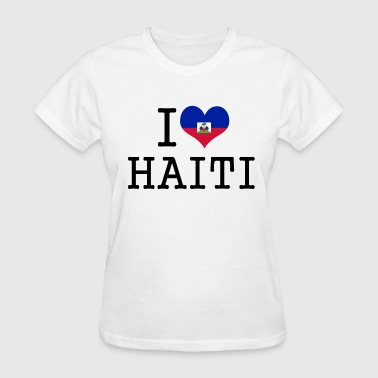 i love haiti - Women's T-Shirt