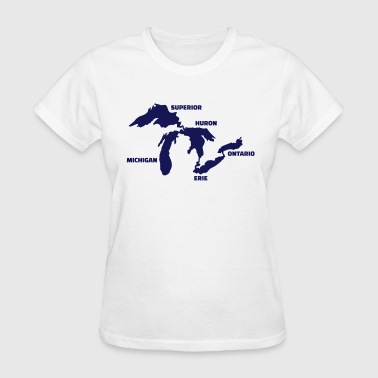 Great Lakes - Women's T-Shirt