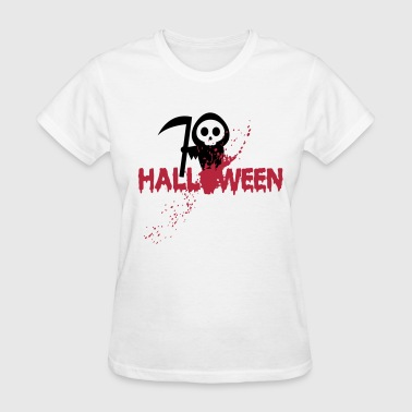 Halloween - Death - Horror - Blood - Splatter - Women's T-Shirt