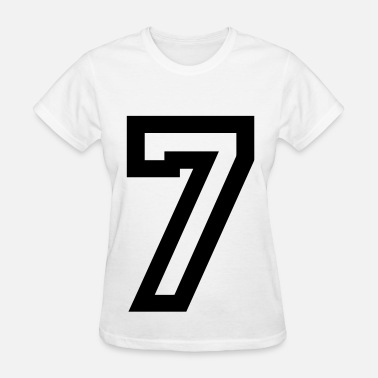 Number 7 Number 7 - Women's T-Shirt
