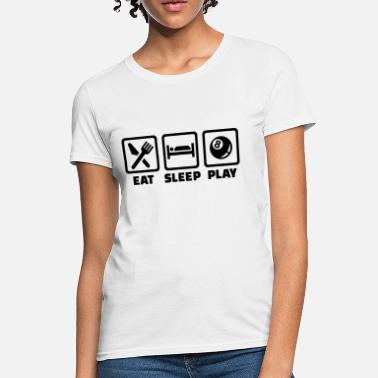 Billiard Players Billiards - Women's T-Shirt