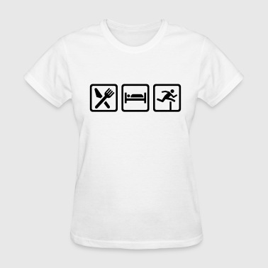 Hurdles - Women's T-Shirt