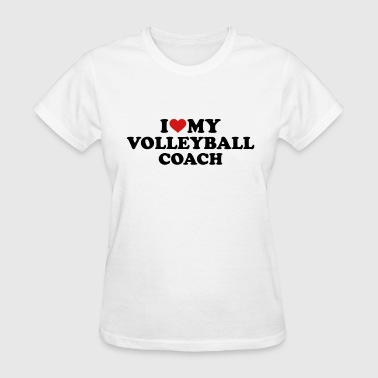 Reds Volleyball Volleyball coach - Women's T-Shirt