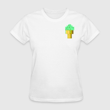 Mint Choc Chip Ice Cream Small - Women's T-Shirt