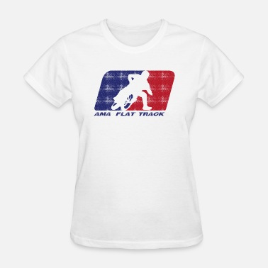 Race Track Ama Flat Track Racing - Women's T-Shirt