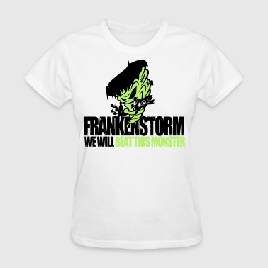 Hurrican Sandy FrankenStorm Hurricane Sandy Support Shirt Womens - Women's T-Shirt