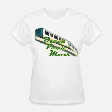 People Mover Detroit People Mover Old School - Women's T-Shirt