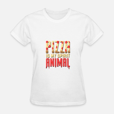 My Spirit Animal Is Pizza PIZZA IS MY SPIRIT ANIMAL / FOOD - Women's T-Shirt
