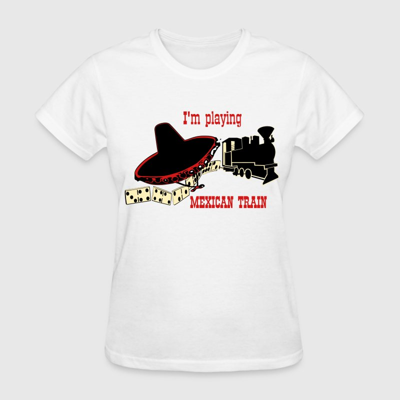 Mexican Train 1 - Women's T-Shirt