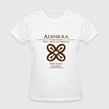Adinkra Power and Unity - Women's T-Shirt