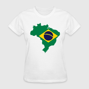 Brazil Map - Women's T-Shirt