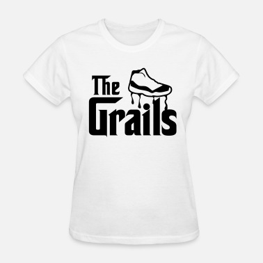 Jordan 11 Gamma Blue the grails jordan 11 graphics - Women's T-Shirt