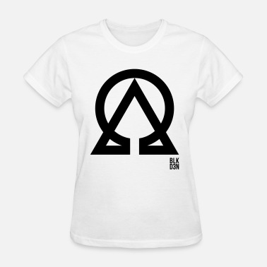 Alpha And Omega Art BLK D3N 016 - Women's T-Shirt