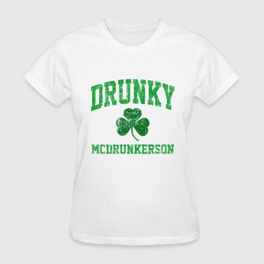 Drunky McDrunkerson - Women's T-Shirt