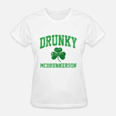 St Patricks Day Drunky McDrunkerson - Women's T-Shirt