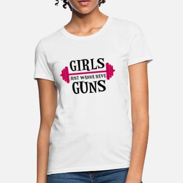 Dads With Guns Guns - Women's T-Shirt