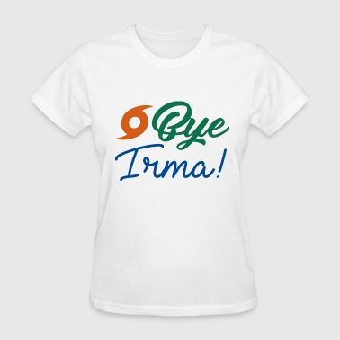 Bye Irma - Women's T-Shirt