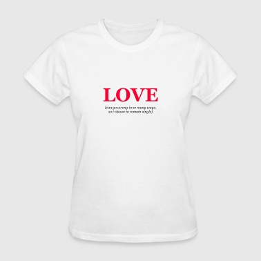 Womens Love T-Shirt - Women's T-Shirt