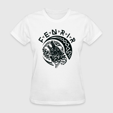 Fenriswolf Fenrir Black - Women's T-Shirt