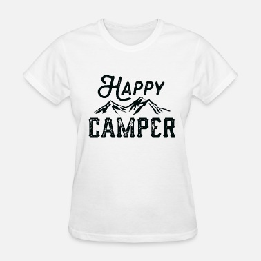 Happy Camper Mountains Happy Camper - Women's T-Shirt