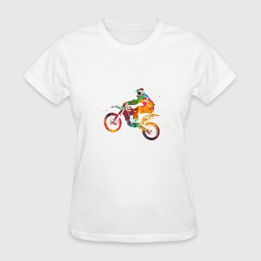 Motocross Dirt Bike - Women's T-Shirt