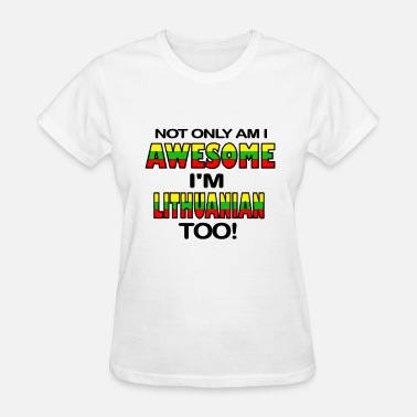 Lithuanian LITHUANIAN - Women's T-Shirt