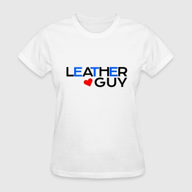 Guy Pride Leather Guy LGBT Fetish Gay Pride - Women's T-Shirt