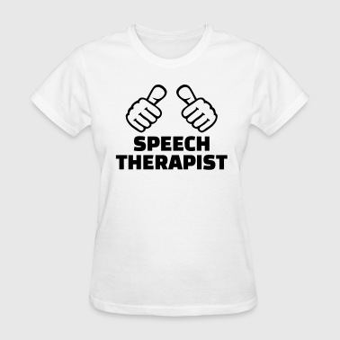 Speech therapist - Women's T-Shirt