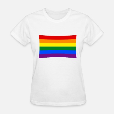 Rainbow Love Flag rainbow flag - Women's T-Shirt