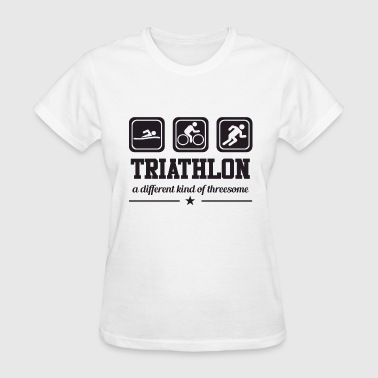 Gift Threesome Triathlon - Threesome - Women's T-Shirt
