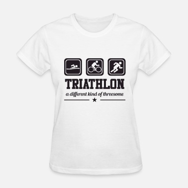 Triathlon Threesome Triathlon - Threesome - Women's T-Shirt