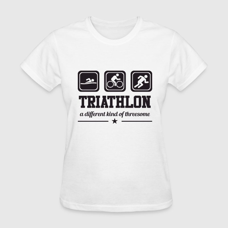 Triathlon - Threesome - Women's T-Shirt