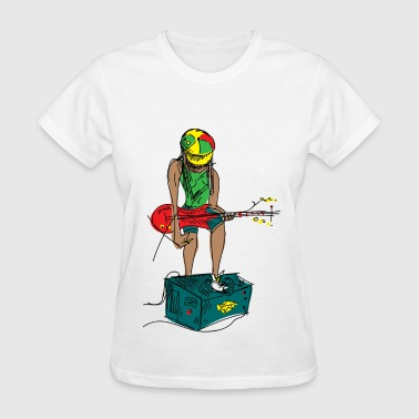 Guitar Girl - Women's T-Shirt