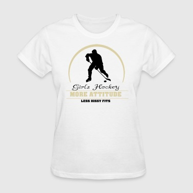 Girls Hockey - Women's T-Shirt