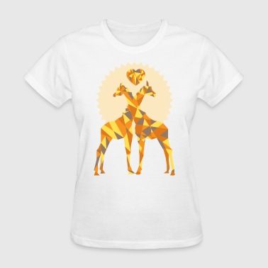 Giraffe Loves - Women's T-Shirt