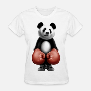 Doping Box Boxing panda bear - Women's T-Shirt