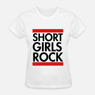 Short Short girls rock - Women's T-Shirt