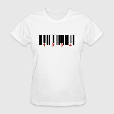 barcode 1984 - Women's T-Shirt