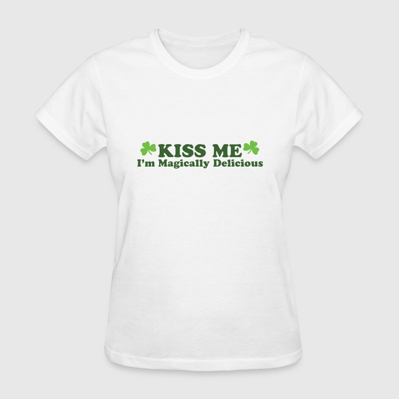 Kiss Me I'm Magically Delicious - Women's T-Shirt